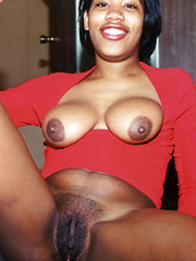 Black babe gets loads of jizz
