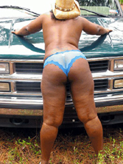 Curvy black moms nude photos from..