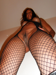 We found these nude black milf in our..