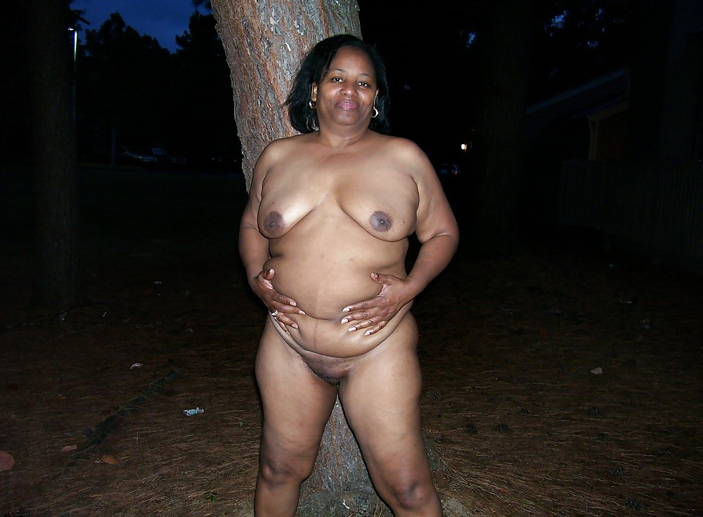 naked black women local