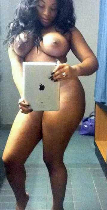Ebony Cell Phone Amateur