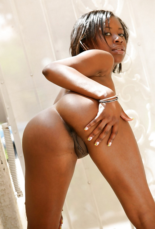 Teen black female nude
