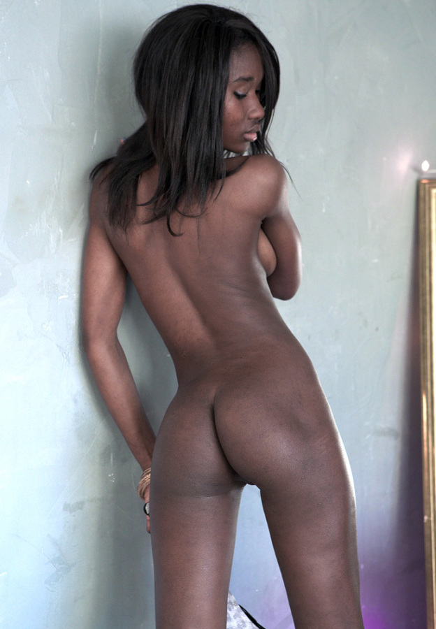 Black girls creampie short