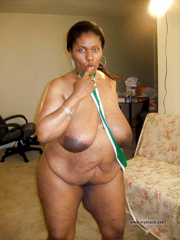 black american naked