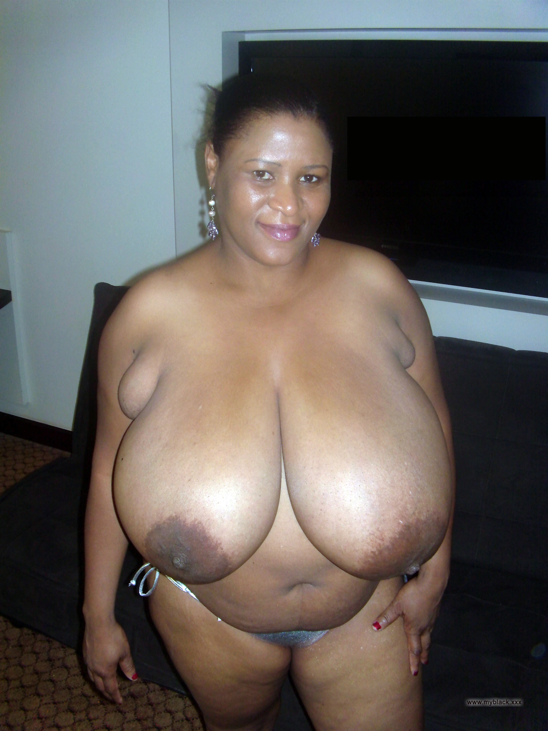 black big women nude breasted Old
