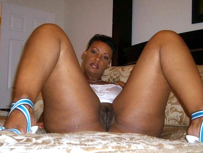 Naked black wives at home #8