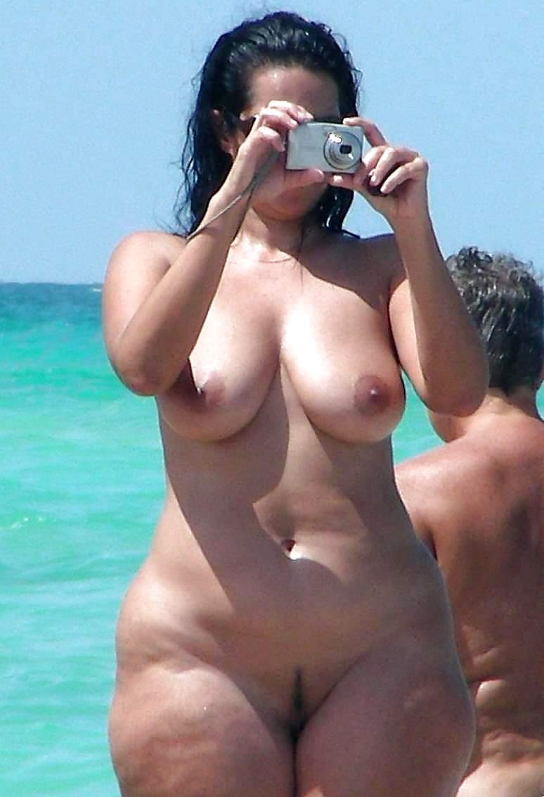 beach Ebony sluts nude